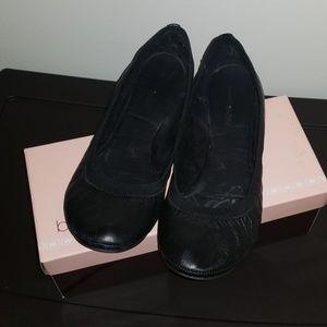 Basic leather flats